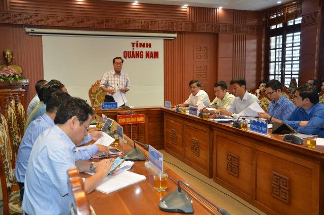 Phó Chủ tịch Thường trực UBND tỉnh Huỳnh Khánh Toàn phát biểu