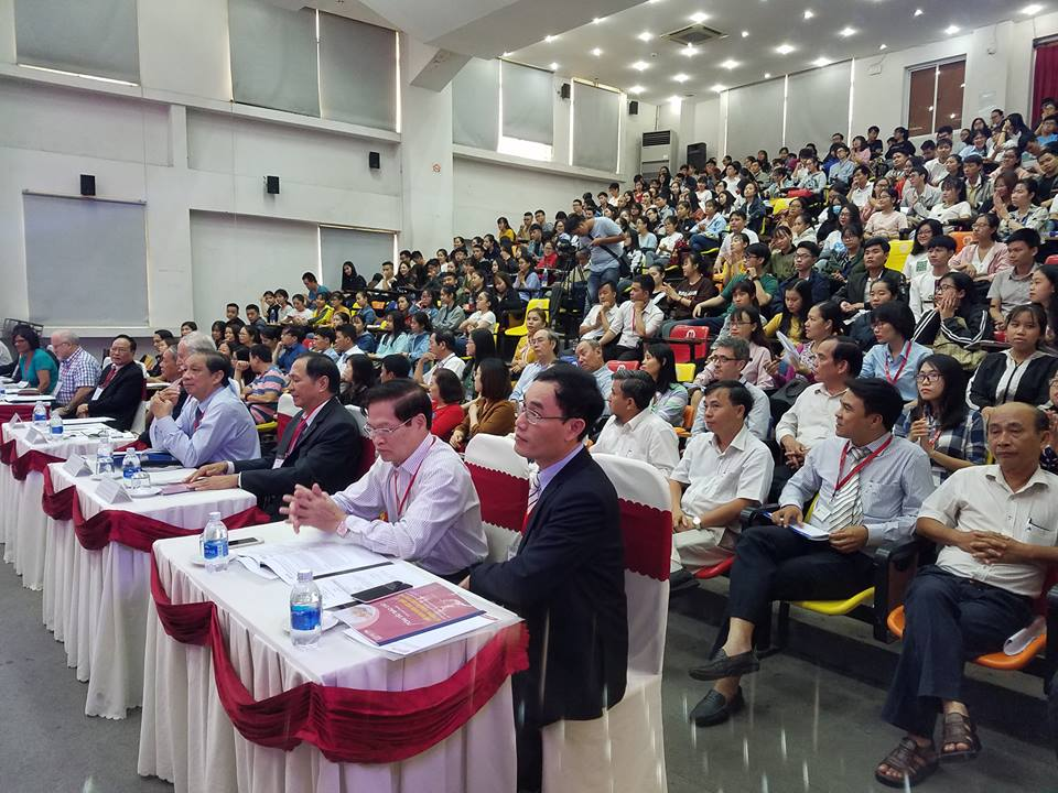 Hội thảo thu hút sự quan tâm của nhiều diễn giả và sinh viên. Ảnh: Q.T