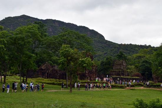 Sự hồi sinh của Khu đền tháp Mỹ Sơn có sự đóng góp quan trọng từ sự hợp tác quốc tế
