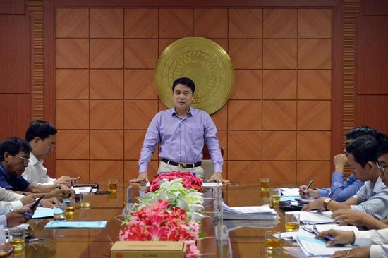Phó Chủ tịch UBND tỉnh Trần Văn Tân chủ trì buổi góp ý
