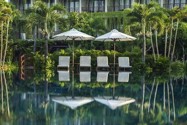 A corner of Silk Sense Hoi An River Resort.