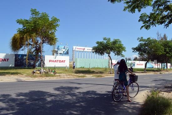 Khu dự án Khu resort & Spa Marriott Hội An bị đình trệ do người dân ngăn cản thi công