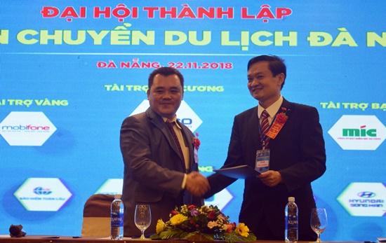 Ký kết hợp tác giữa Hội Vận chuyển du lịch Đà Nẵng và Thaco Trường Hải