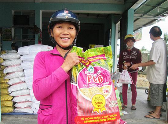 Giống lúa thuần PC6 là một trong những giống chủ lực được ngành nông nghiệp khuyến cáo sản xuất trong vụ đông xuân tới. Ảnh: MAI LINH