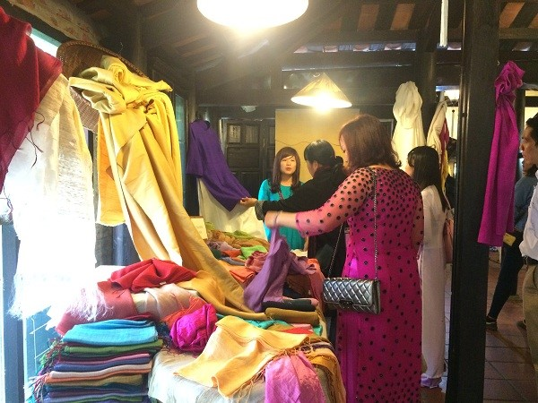 Ma Chau silk shop in Quang Nam. Photo: quangnam.gov.vn