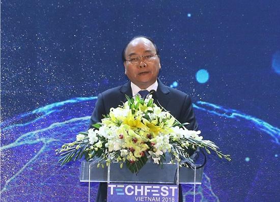 Thủ tướng Chính phủ Nguyễn Xuân Phúc cam kết Chính phủ sẽ tạo những cơ chế tốt nhất và đồng hành cùng khởi nghiệp