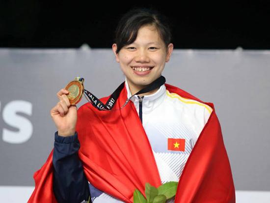 Nguyễn Thị Ánh Viên không phải là VĐV để thi đấu và giành nhiều huy chương tại Đại hội TD-TT toàn quốc.  Ảnh: Internet