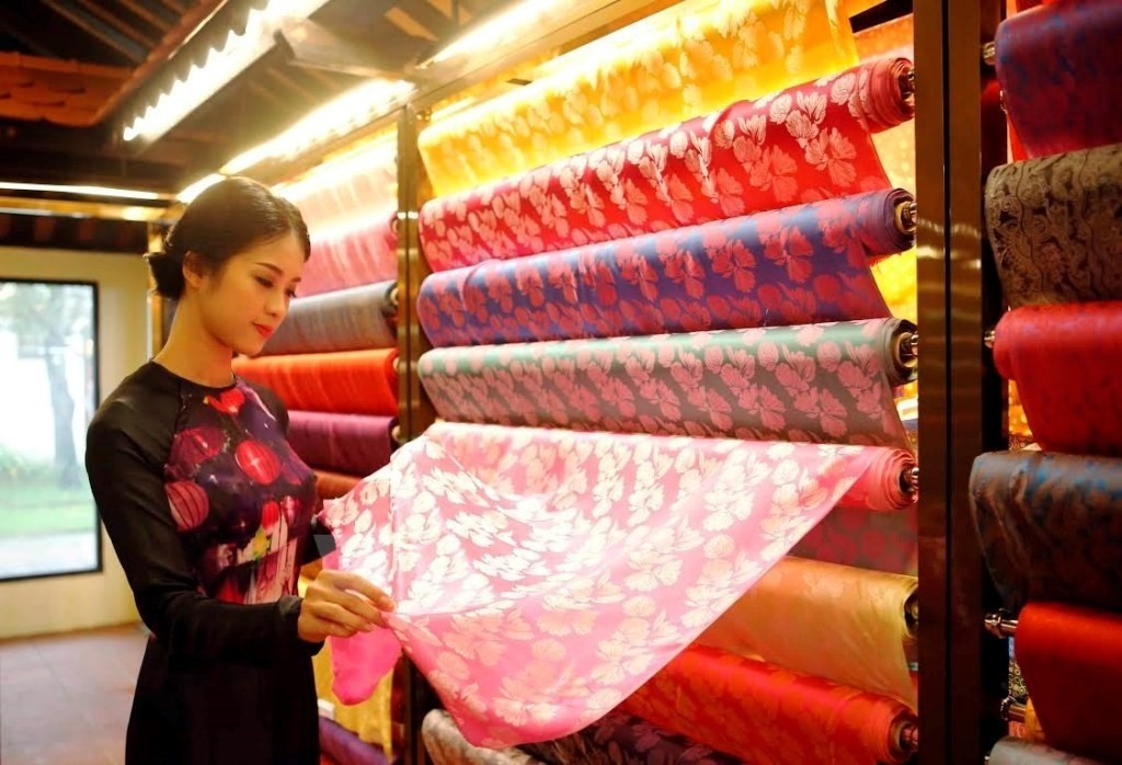 Quang Nam silk sold in Hoi An