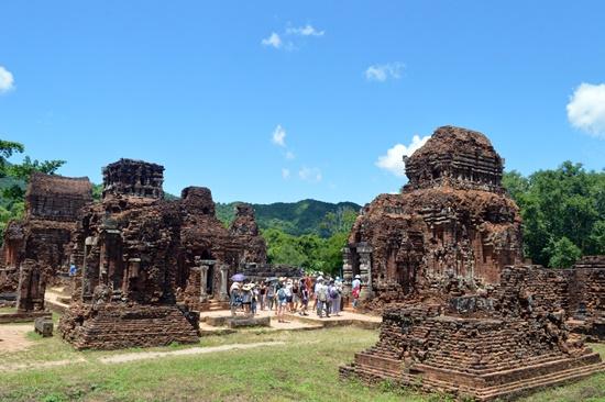 Khu đền tháp Mỹ Sơn đã được bảo tồn tốt