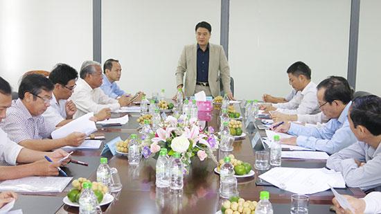 Phó chủ tịch UBND tỉnh Trần Văn Tân chỉ đạo các địa phương, ngành xử lý dứt kiểm kiến nghị của doanh nghiệp Thiên Hậu Phước.