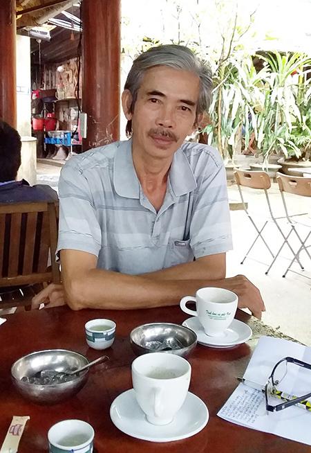 Họa sĩ Nguyễn Ba.