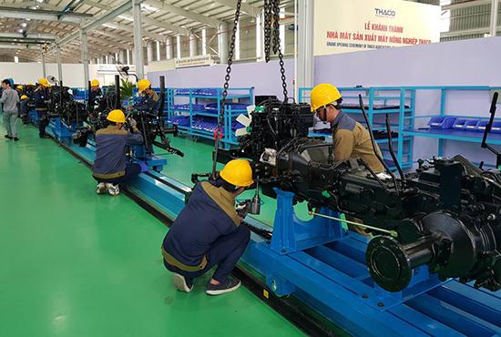 Phát triển sản xuất trên nền tảng tự động hóa, Trường Hải đã chuẩn bị cho một chu kỳ đầu tư mới.Ảnh: T.D