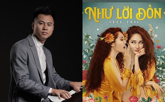 """Nhạc sĩ Dương Cầm với những quan điểm không ủng hộ dành cho ca khúc """"Như lời đồn"""" của ca sĩ Bảo Anh. Ảnh: Internet"""