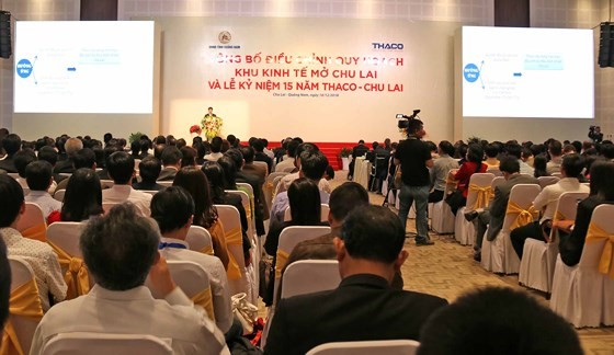 Overview of the announcement cermeny of the adjustment of the Chu Lai OEZ