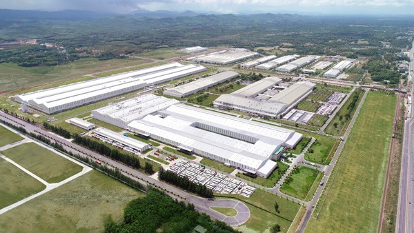THACO's auto complex in the Chu Lai OEZ