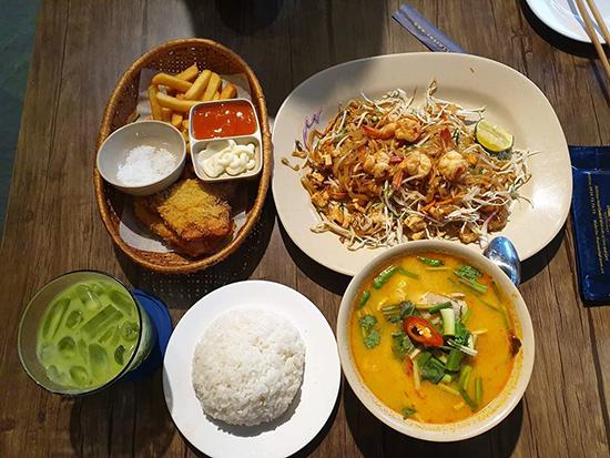 Các món ẩm thực Thái Lan ngon miệng và hợp vị đối với du khách.