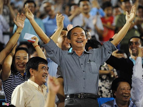 Bầu Đức là một trong những ông bầu đóng góp công sức khá nhiều cho thành công của bóng đá Việt Nam.  Ảnh: Internet