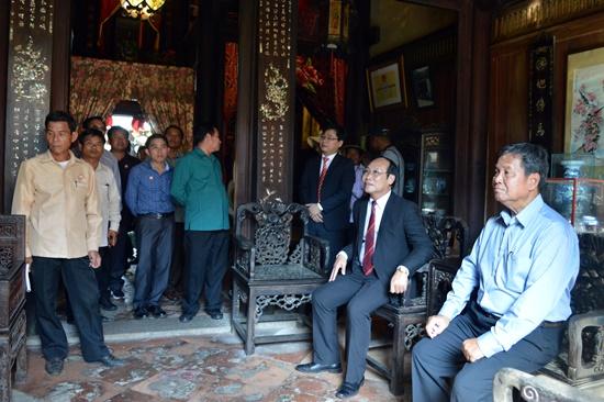 At Cao Hong Lanh ancient house