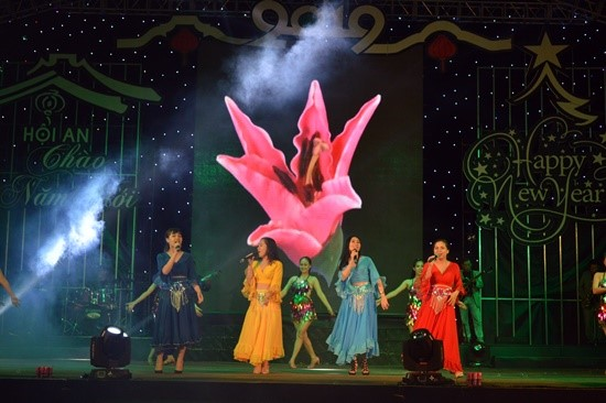 An art performance at the event.