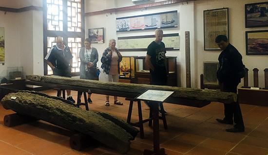 Các bảo tàng ở Hội An đã được đưa vào hệ thống các điểm tham quan theo tour tuyến tại Hội An. Ảnh: S.A