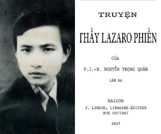 Tiểu thuyết Thầy Lazaro Phiền của Nguyễn Trọng Quản.