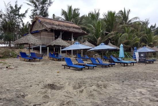 Nhà hàng bà Bột xây dựng trái phép trên bờ biển Tân Thành