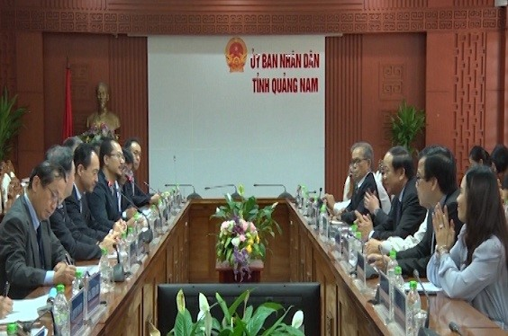 Scene of the meeting