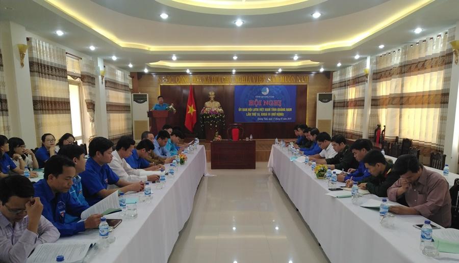 Hội nghị Ủy ban Hội LHTN Việt Nam tỉnh lần thứ 10. Ảnh: M.L