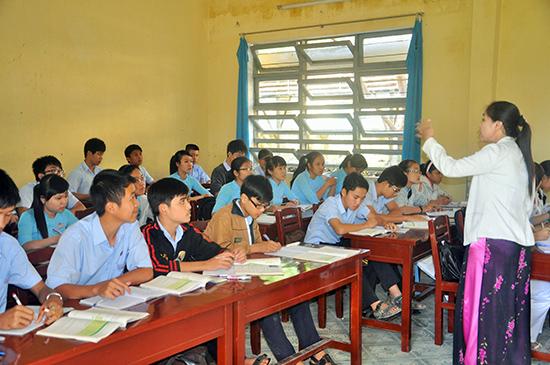 Đội ngũ giáo viên sẽ quyết định đến sự thành bại của chương trình GDPT mới. Ảnh: X.P