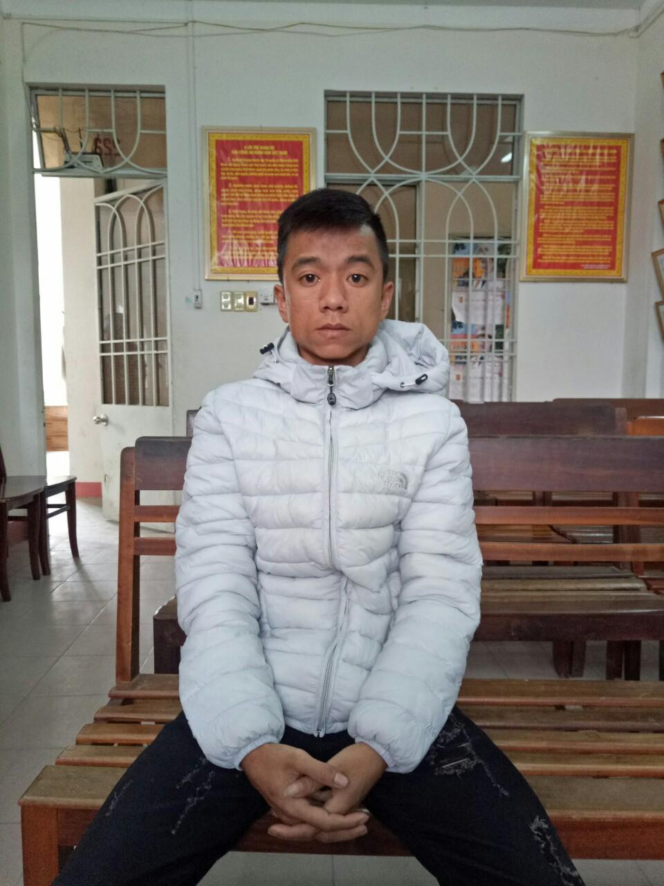 Đối tượng Nguyễn Hữu Nghĩa. Ảnh: P.NAM
