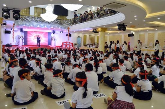 Cuộc thi thu hút hơn 200 em học sinh tiểu học tham gia