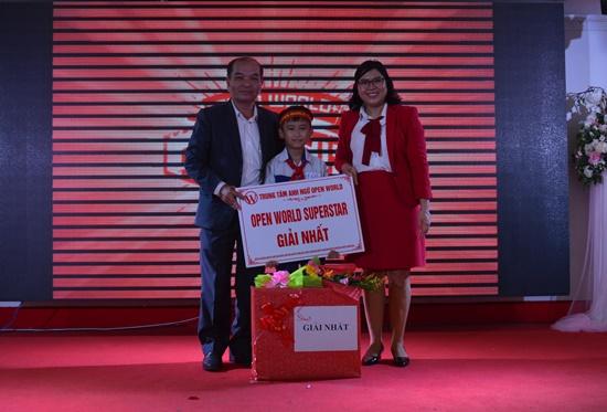 Giải nhất đã thuộc về  em Nguyễn Hữu Khang - học sinh lớp 5 Trường Tiểu học Nguyễn Thành Ý