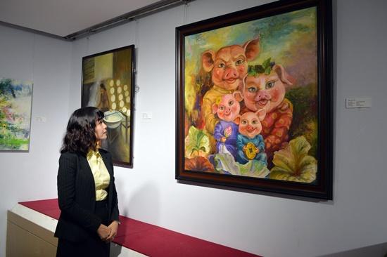 Hơn 50 tác phẩm tham dự triển lãm lần này