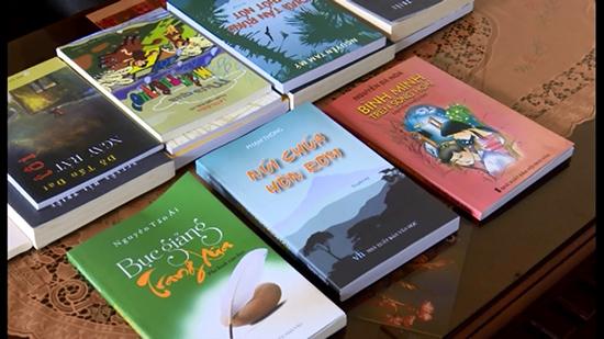 Một số tác phẩm văn học được hỗ trợ in ấn, phát hành đợt 1.