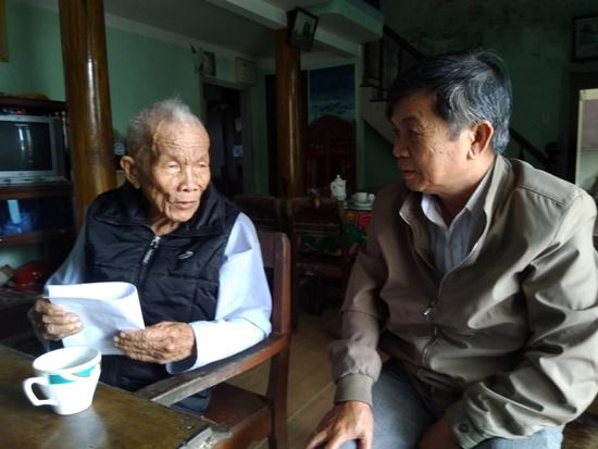 Ông Tống Thu luôn trăn trở với công tác xây dựng đảng