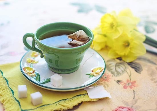 Trà xanh giúp tăng cường chức năng gan và khuyến khích enzym giải độc cơ thể. Ảnh: Pixabay