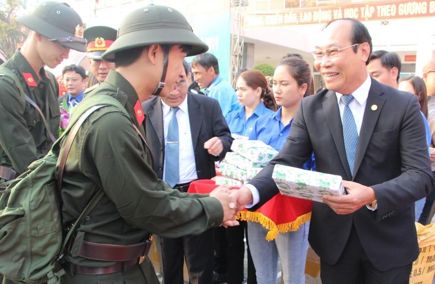 Chủ tịch Ủy ban MTTQ Việt Nam tỉnh Võ Xuân Ca