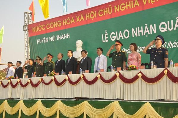 Bí thư Tỉnh ủy Phan Việt Cường đến dự, tiễn đưa các 208 thanh niu