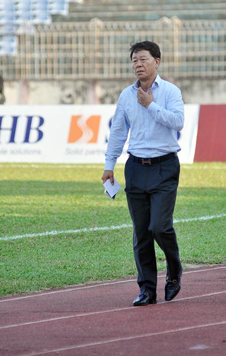 HLV Chung Hae Seong sẽ thành công khi dẫn dắt TP.Hồ Chí Minh? Ảnh: T.V
