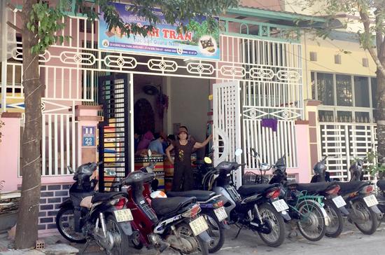UBND tỉnh yêu cầu UBND TP.Tam Kỳ khẩn trương xử lý tình trạng ô nhiễm tại cơ sở bánh dừa nướng Quỳnh Trân. Ảnh: PHAN VINH