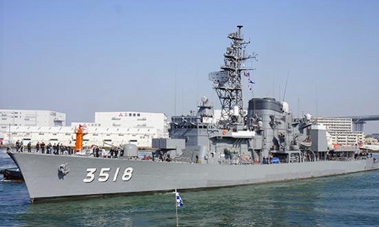 Tàu Nhật Bản cập cảng Tiên Sa (Đà Nẵng).