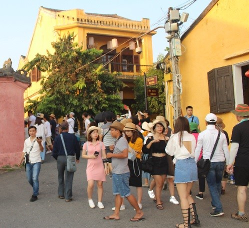Hoi An- an ideal check-in site for young people.
