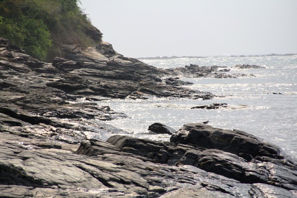Tam Hai island commune is surrounded by sea.