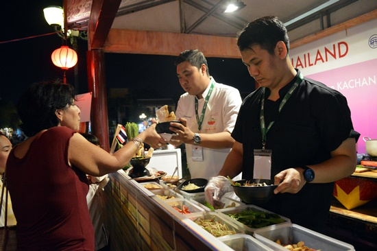 The festival is attractive to international and domestic tourists.