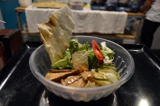 A bowl of Hoi An Cao Lau noodles.