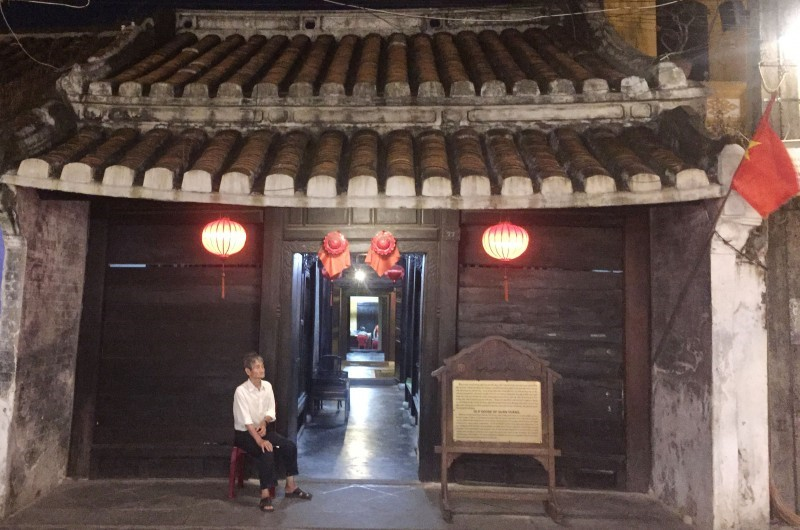 Quan Thang ancient house, one of the must-see destinations in Hoi An, is over 150 years old.