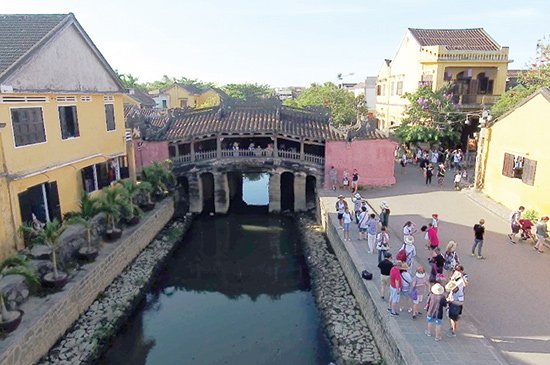Hoi An ancient town where the competition will be organized.