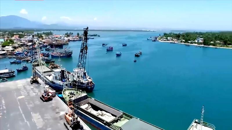 Marine economic development in Quang Nam.