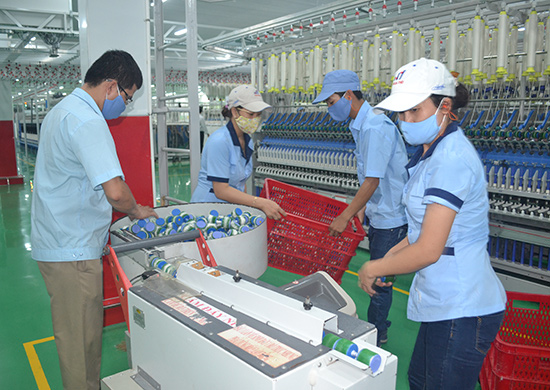In a factory in Quang Nam province.