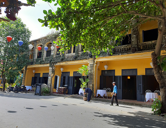 French architecture in Hoi An